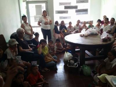 Visita del Colegio Montessori al Observatorio.