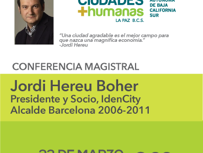 Conferencia Magistral: Jordi Hereu