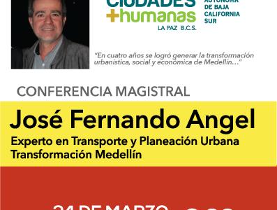 Conferencia Magistral: José Fernando Ángel