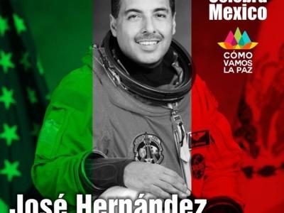 José Hernández, El Mexicano que llegó al espacio.