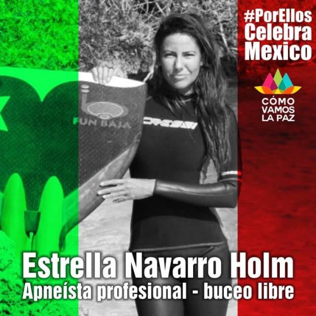 Estrella Navarro la sirena de La Paz