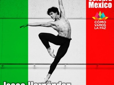 Isaac Hernández primer bailarín del Ballet Nacional de Inglaterra.