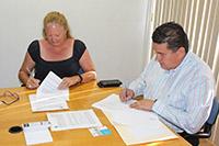 ICF y UABCS firman convenio de colaboración.