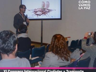 Taller Profesionalización para el Urbanismo Táctico, XI Congreso Internacional de Ciudades y Transporte. Hacia un mundo sustentable, EMBARQ México.