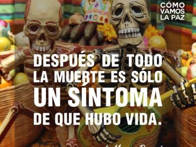 Día de Muertos: tradición y colores  vivos