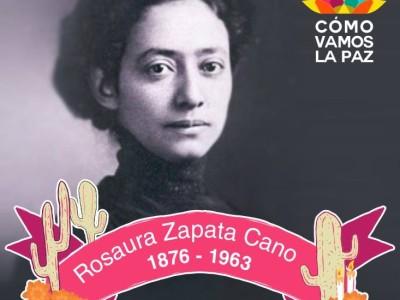 Rosaura Zapata Cano, educadora mexicana que promovió la educación preescolar.