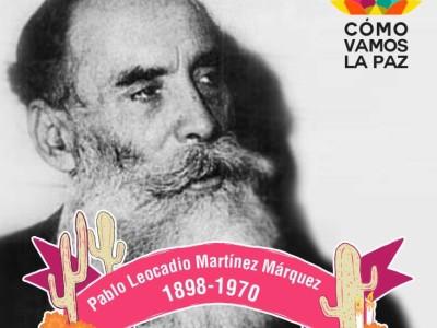 Pablo Leocadio Martínez Márquez el historiador de Sudcalifornia.