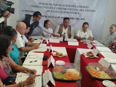 PROFECO conforma el Consejo Consultivo del Consumo del Estado de Baja California Sur.