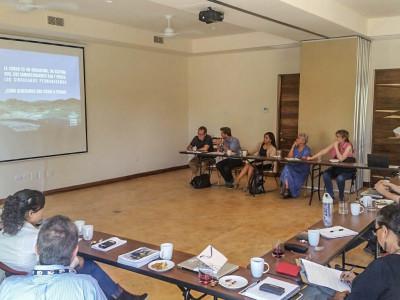 El Blum Center Universidad de California campus  Irvine, imparte taller de intercambio de perspectivas e ideas.