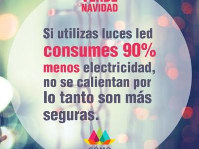 ¿Cuáles son los beneficios de las luces de Navidad LED?