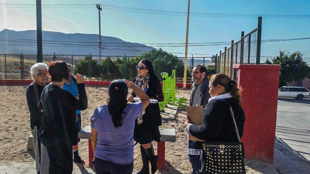 Colonos del Pedregal  piden recuperar los espacios públicos.