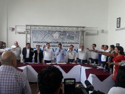 Se instala el Comité de Planeación Municipal de La Paz, B.C.S.