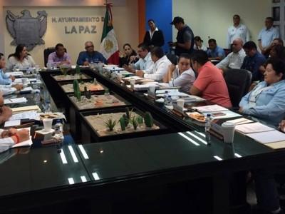 Décima quinta sesión pública ordinaria de cabildo del H. XV Ayuntamiento de La Paz, BCS.