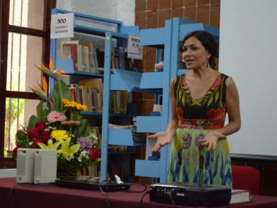 Dolores Heredia invitada de la Semana de Cine Mexicano en La Paz, el teatro, el cine, la danza, el arte, la cultura agentes de cambio social.