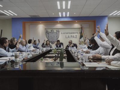 Aprueba Cabildo de La Paz el envío de la Cuenta Pública al Congreso del Estado
