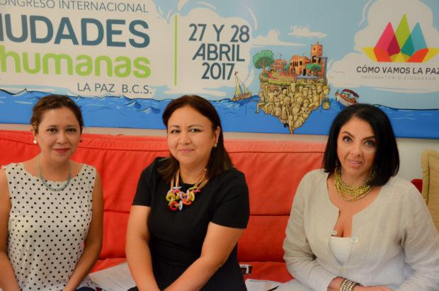 Se llevará la tercera edición del Congreso Ciudades + Humanas en La Paz BCS