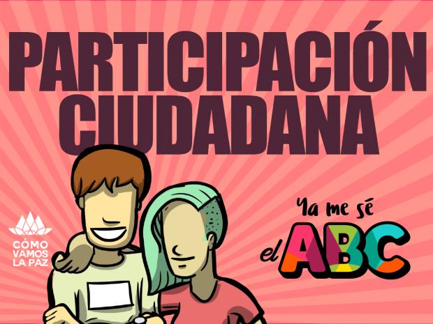 Ya me se el ABC de  Participación Ciudadana