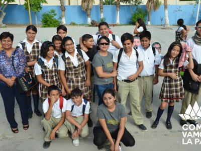 """Dato Duro visita las escuelas con la exposición """"La Paz en números"""""""