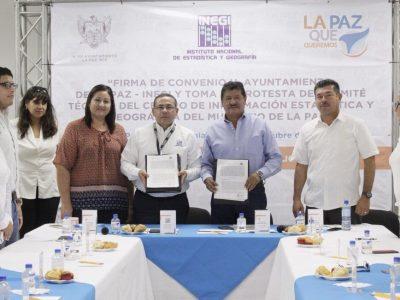 La Paz, contará con un Centro de Información Estadística y Geográfica.