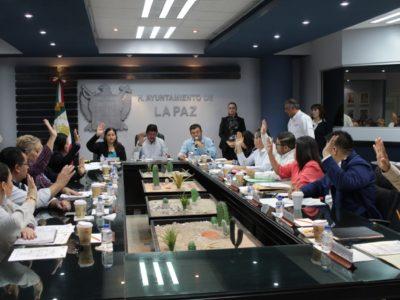 Aprueba Cabildo de la Paz Presupuesto de Egresos 2018