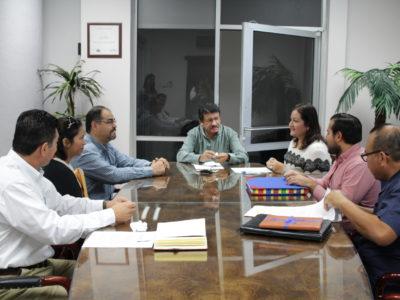 Ayuntamiento de La Paz recibe áreas de donación.