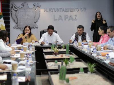 Ayuntamiento de La Paz genera un ahorro de 22 millones en el mes de noviembre