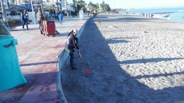 13.5 toneladas de basura recolectadas el fin de semana de Carnaval: Martín Guluarte Ceseña.