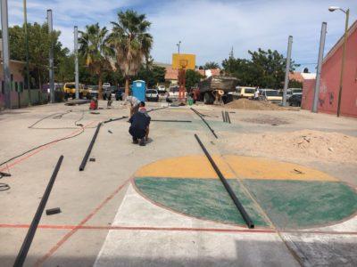 Ayuntamiento de La Paz inicia trabajos de construcción y rehabilitación de espacios públicos