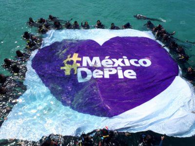#MéxicodePie con el Buceatón en el Coromuel