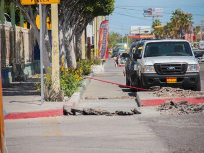 Rehabilitarán la ciclovía del Boulevard Forjadores de Sudcalifornia