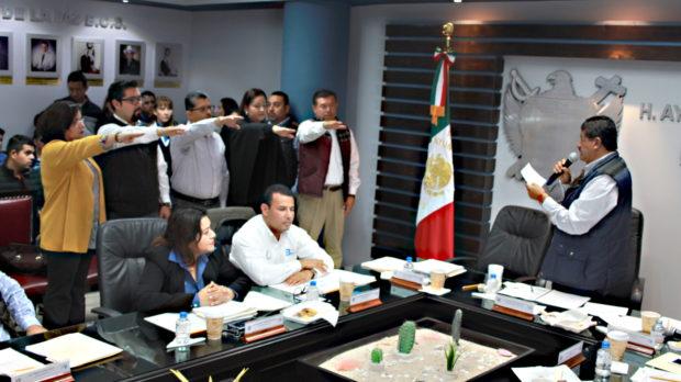 Toma protesta la Comisión Especial de Seguimiento para la entrega-recepción del XV Ayuntamiento de La Paz