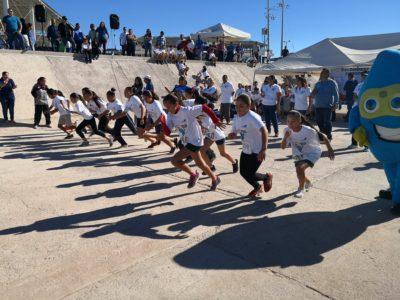 Se realizó con éxito 1ra. Carrera Pedestre del OOMSAPAS de La Paz