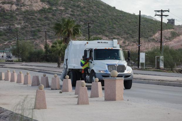 Trabajará Servicios Públicos en recorridos y recolección de basura por las diversas playas del municipio de La Paz