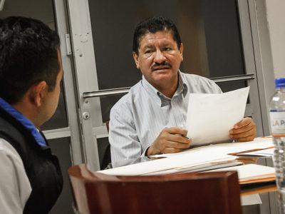 A poco meses de culminar el proceso de entrega-recepción, Alcalde de La Paz