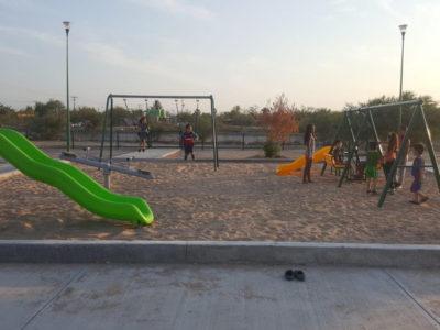 Continúa Ayuntamiento de La Paz trabajando en la recuperación y construcción de espacios públicos