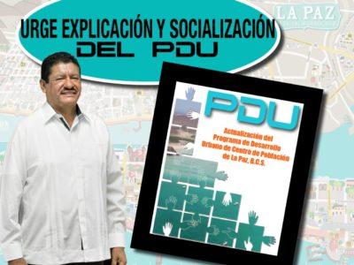 Urge explicación y socialización sobre el PDUCP
