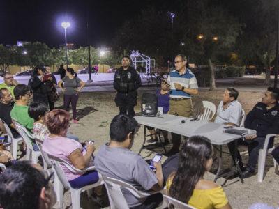 CONTINÚA LA DGSPPPTM ORGANIZACIÓN DE VECINOS VIGILANTES