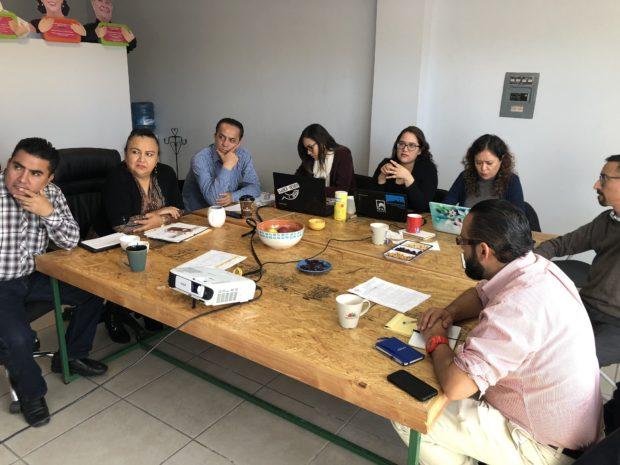 CVLP presenta el PIMUS a las  autoridades del XVI Ayuntamiento de La Paz.