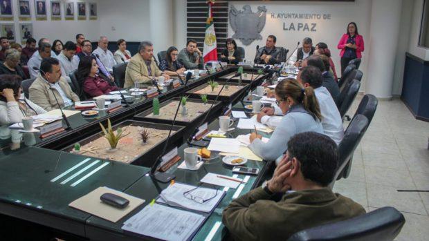 Aprueba Cabildo el Plan Municipal de Desarrollo para La Paz