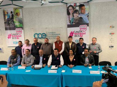 CCE y Organizaciones de la Sociedad Civil, impulsan la aprobación de una Ley de Movilidad para Baja California Sur
