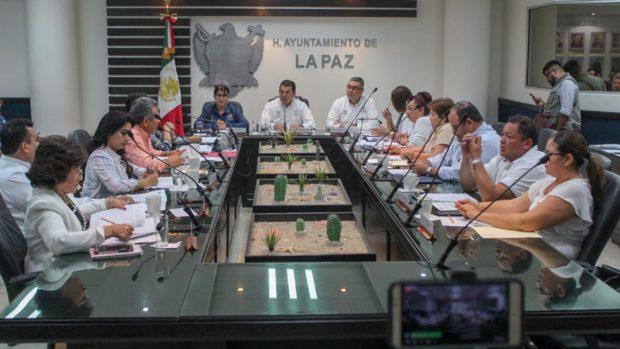 Da solución el Cabildo de La Paz a vecinos del Fraccionamiento Juárez