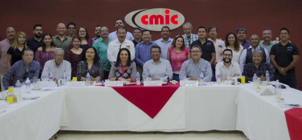 FIRMA DEL CONVENIO DE COLABORACIÓN ENTRE LA CÁMARA MEXICANA DE LA INDUSTRIA DE LA CONSTRUCCIÓN, DELEGACIÓN BAJA CALIFORNIA SUR, Y EL OBSERVATORIO CIUDADANO, CÓMO VAMOS LA PAZ, A.C.