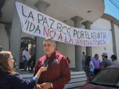 Ratifica el XVI Ayuntamiento, el compromiso de velar por el agua y la vida