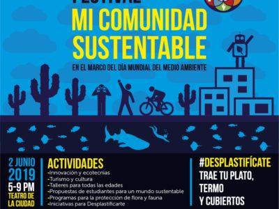 """Celebraran 4to Festival """"Mi Comunidad Sustentable"""""""