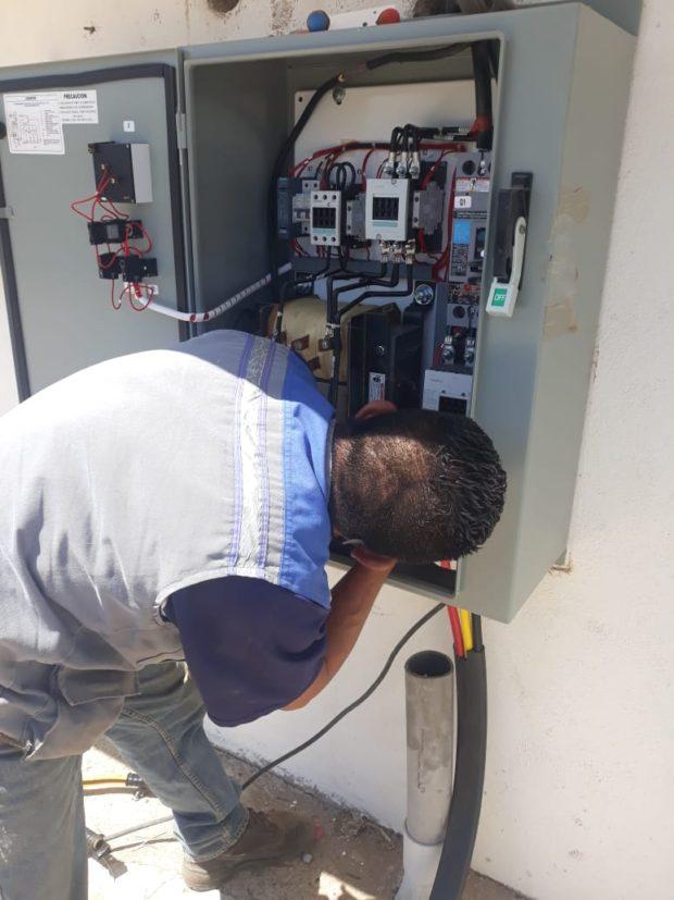 Restablecido el servicio de agua después de falla eléctrica