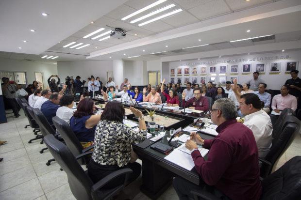 Se suma el Municipio de La Paz en aprobar la adecuación del reglamento para la desplastificación.