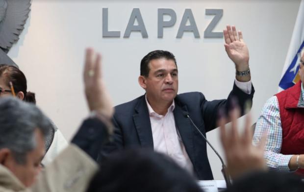 Se aprobó el calendario ordinario de sesiones 2020 del XVI Ayuntamiento de La Paz