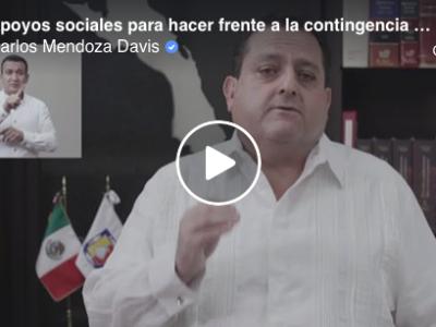 Firma Convenio de Colaboración y Participación, Carlos Mendoza Davis con Alianza  Comunitania de Baja California Sur.