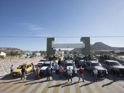 Alianza Comunitaria de Baja California Sur, arranca con su primer brigada de entrega de despensas.