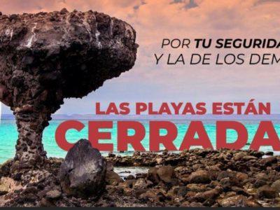 En esta emergencia sanitaria, no se permitirá el acceso a la Playas.
